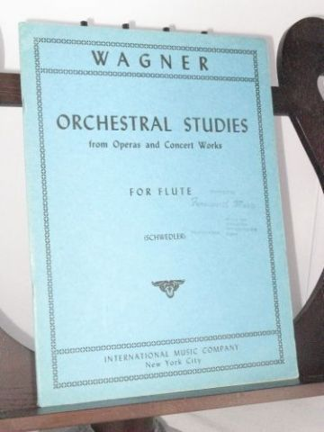 Wagner R - Orchestral Studies for Flute from Operas and Concert Works